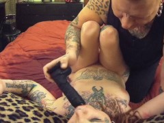 Punk Girl Amputee Squirting Massive Multiple POV Cumshot
