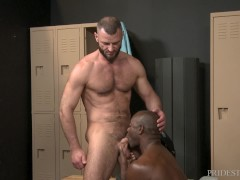 ExtraBigDicks - Jake Morgan Caught Staring In The Locker Room