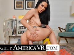 naughty america - katrina jade gives you a private swimsuit live show