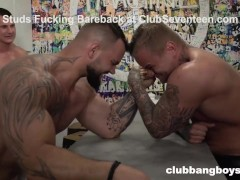 Tattooed Studs Enter Arm Wrestling Championship