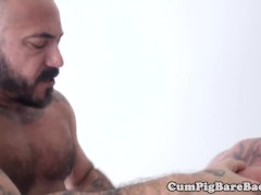 muscly bear anally slammed and creampied