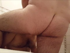 Hot Shower time for BearLikeBoy and his Chubby Boy