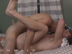 IconMale - fit lil stepbrothers ass fuck while daddy sleeps