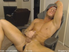Muscle Stud Cumshot Compilation LIVE On Chaturbate