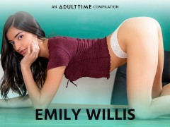 Emily WIllis Creampie, Threesome , Rough Sex & More COMP- ADULT TIME