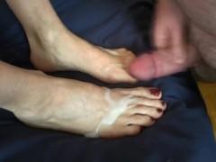 Foot Job Fun!