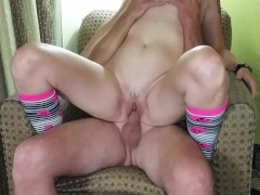 amateur fucking after master bation with a rabbit toy part 2