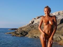 Katya Clover - Naked Beach Dancer[Corsica Summer 2014]