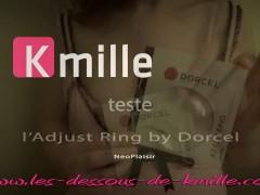 Kmille teste l Adjust Ring by Dorcel