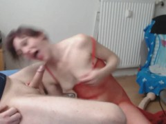 incredible hot wife loves intense deepthroat session