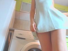 teen fantasy in the kitchen