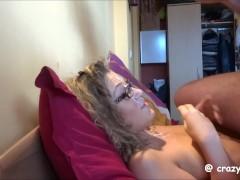 Cum covered girlfriend