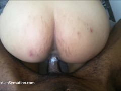 Asian Wife Rides BBC Until He Cums In Her (A Must-See)