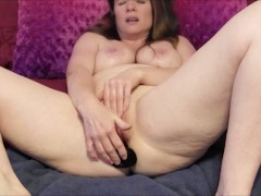 Submissive Mommy Takes It In The Ass From Son (Simulated with toy)
