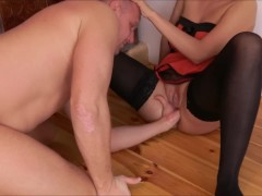 UNBELIEVABLE HUGE SQUIRTING ORGASM AFTER HARD PUSSY EATING.PART5