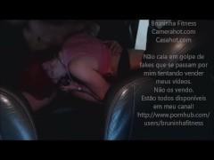 Hardcore Public sex in the Car at Mall Parking - Gostosa fodendo no carro