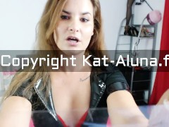 "Maitresse Kat Aluna Soumission Slave ""Jerk Off Instruction French"""
