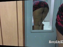 Short clip of me bending over, showing my wet pussy juices