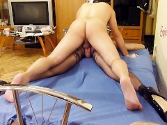 Painful Anal Pounding Spread Eagle Bounded Slave Slut