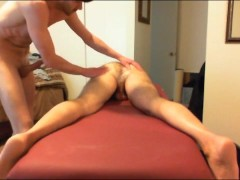 Dad Gets BB ANAL Massage-prt2