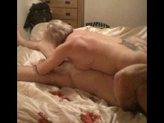 Hot muscle couple eat and fuck ass with 69