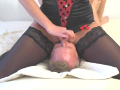 Amazing Squirt On Mouth. Face Sitting And Awesone Pussy Riding.