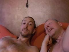 Boy Sucking Daddy DILF, 2 Cumshots in Montenegro