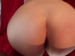 SHE'S BACK! BOOTY WORSHIPING AND SPANKING A THICK WHITE GIRL
