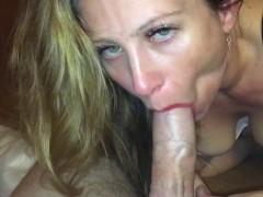 - Wife greedily sucks on...