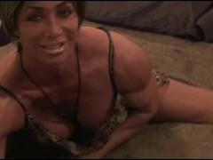 A Muscle Goddess' Bedroom Fantasy (Full Version)