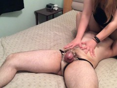 Facesitting hotwife tells husband about her date