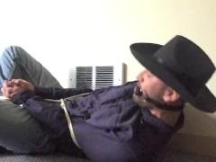 Roped Cowboy