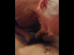 Grandpa Sucking my Teen Cock - Kyle Douglas