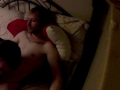 Sucking off straight 22 year old guy