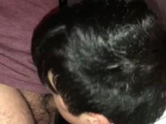 Sucking straight friend during movie @heismathewn