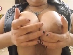 Biker Chick Wants my Cum - Vape BlowJob/Titty-Fuck