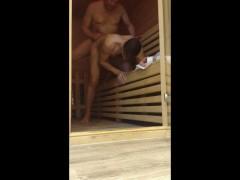 Public Sauna Cruising Bareback