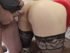 Anal sex. Anus milf. Anilingus. Rimming. Sperm on ass. On pussy. Priest.