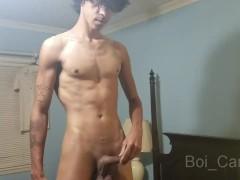Boi_Candy Cums using his Feet