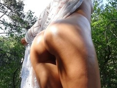 Extreme Wild Fuck With Petite Teen On Waterfall - Amateur Couple Carrylight