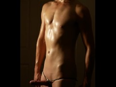 Behind the scenes of a photos shoot: VOB's 6 months weight training and cum