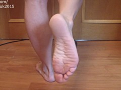 FEET Fetish Muscle Girl ANOUK