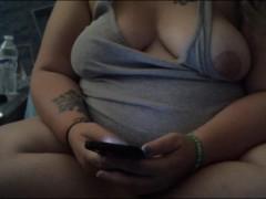 downblouse/nip slip using phone
