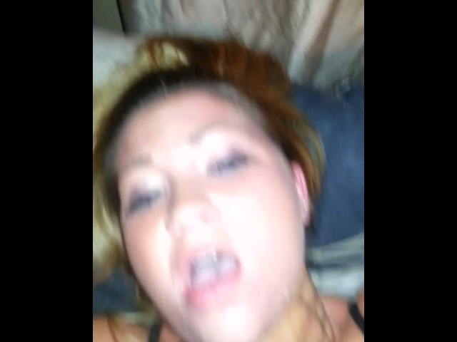 Sammie louisburg choked and fucked after a sloppy facefuck 5