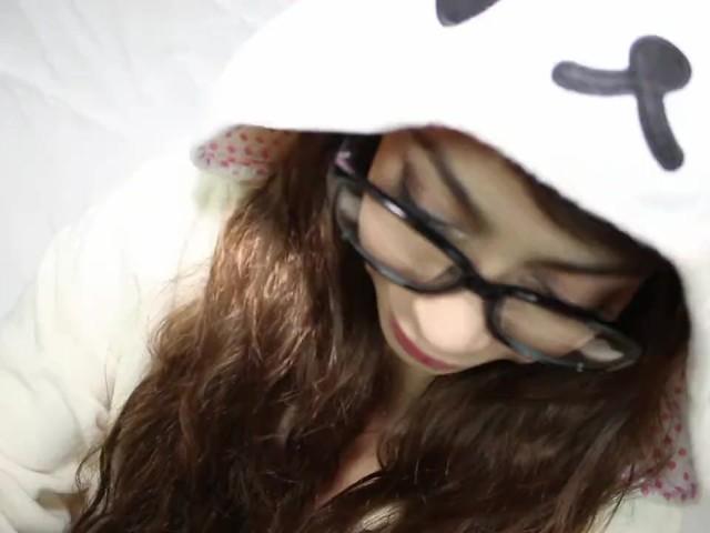 Cyber cutie Kawaii Girl swallows your dick