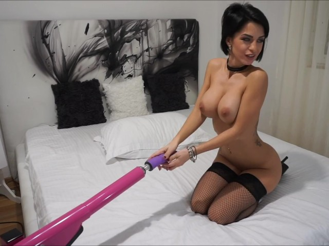 image Anisyia livejasmin extreme highheels stockings fuckmachine suck fetish