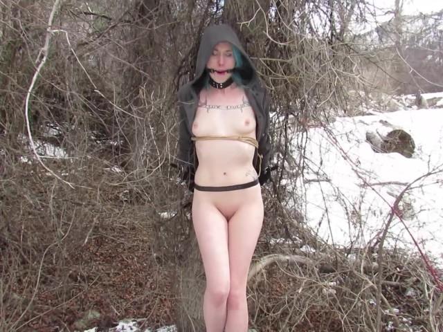 snow bondage sklavin