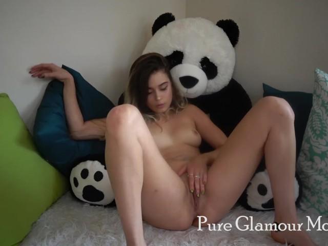 Pandastyle un pandita en el bosque doble cumshot