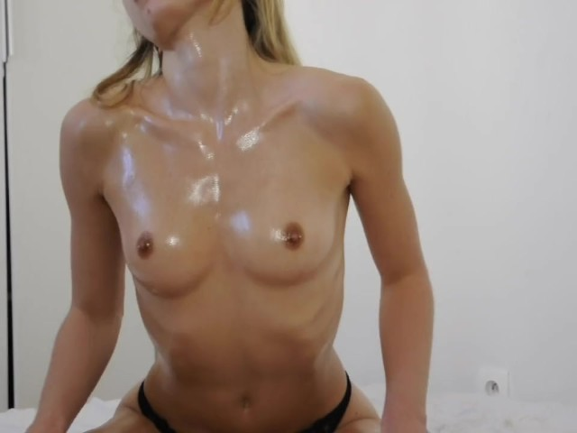 Sexy Teen, Lubed Fit Body, Smoking and Sucking - Leolulu