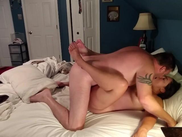 nude man on top sex gif